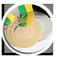 Medalha em Latão de Olimpíadas