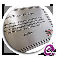 placa de metal personalizada - homenagem_2_pequena