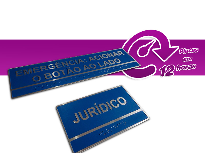 Invista na boa comunicação interna da sua empresa com placas personalizadas para sinalização